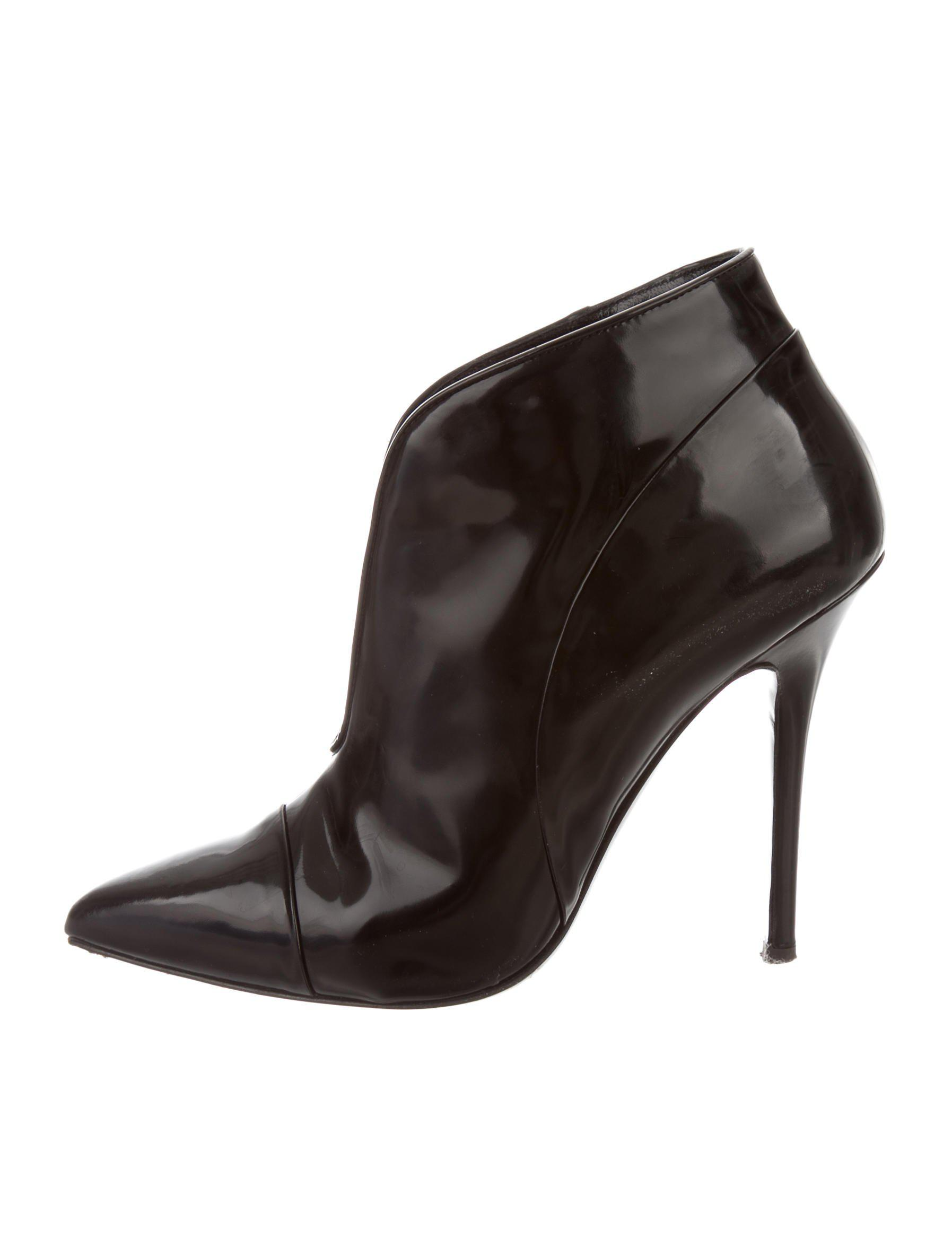 buy cheap view Proenza Schouler Leather Pointed-Toe Booties buy online new 2015 for sale VZ2GKr2