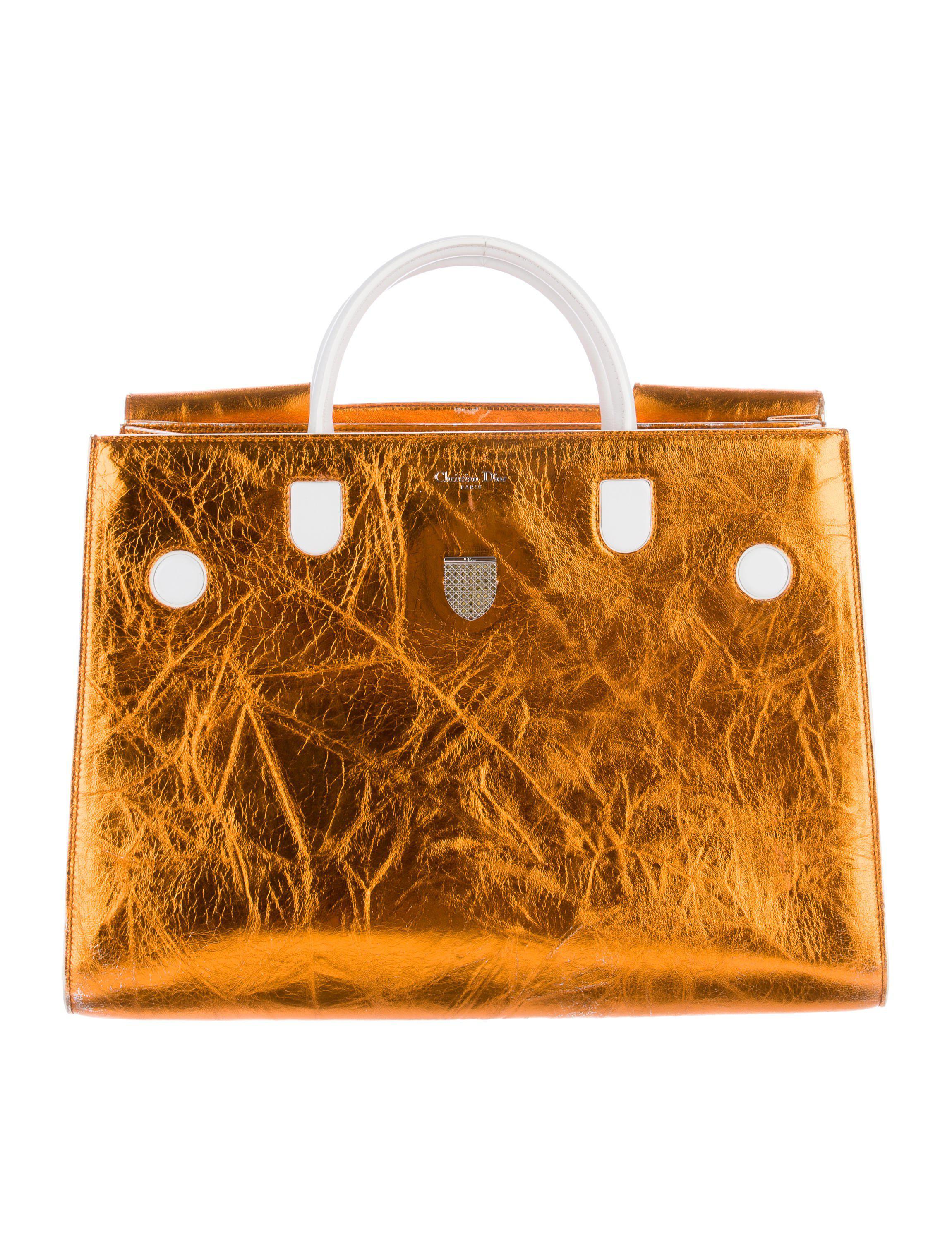 91a73379c3a0 Lyst - Dior 2016 Diorever Bag in Metallic
