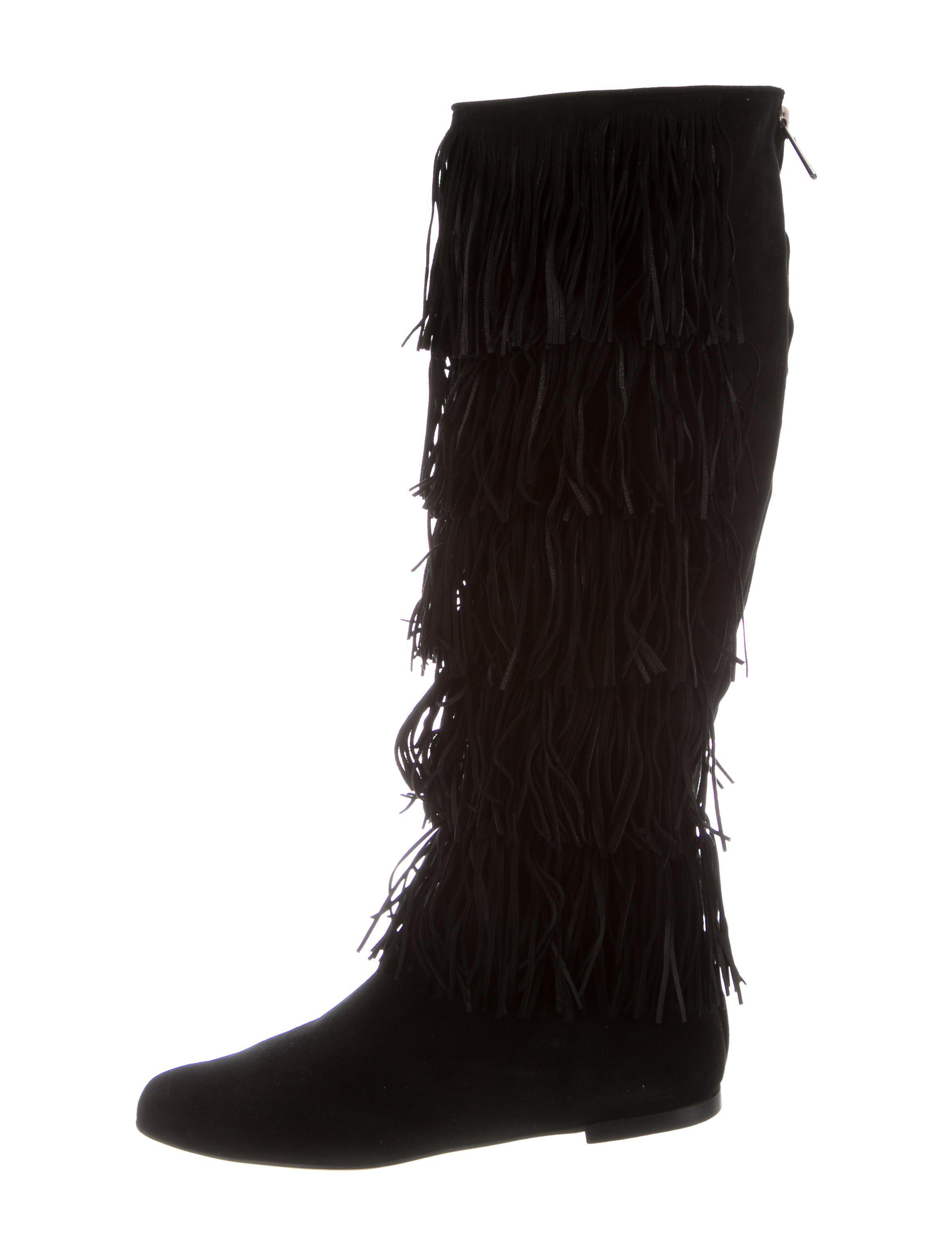 Paul Andrew Irving Fringe Boots w/ Tags 100% original cheap price 2014 newest online sale professional free shipping extremely 38fzD2T4