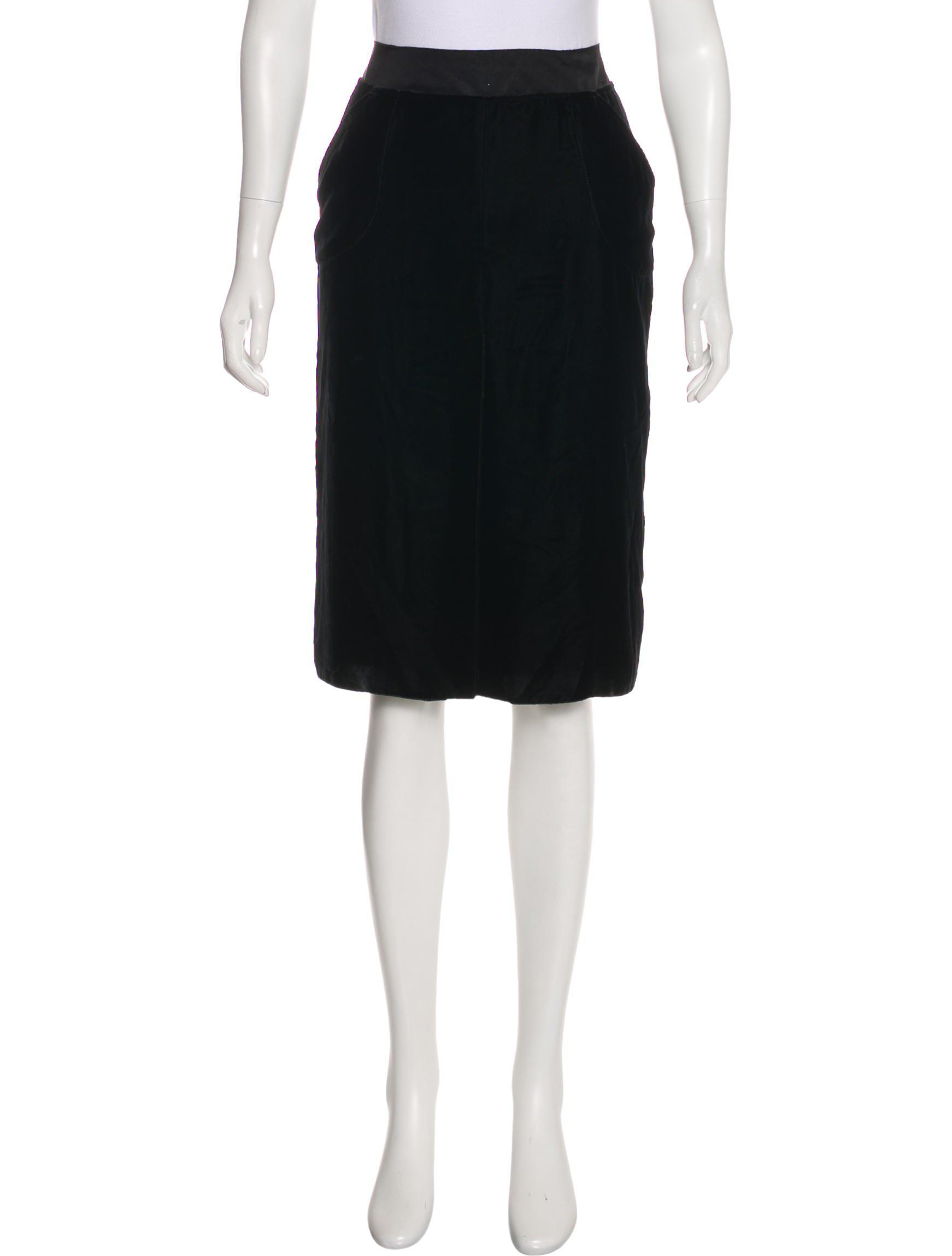 Lanvin Velvet Pencil Skirt Outlet Store Buy Cheap Pick A Best Comfortable Outlet With Mastercard Outlet Free Shipping I4Uyjp