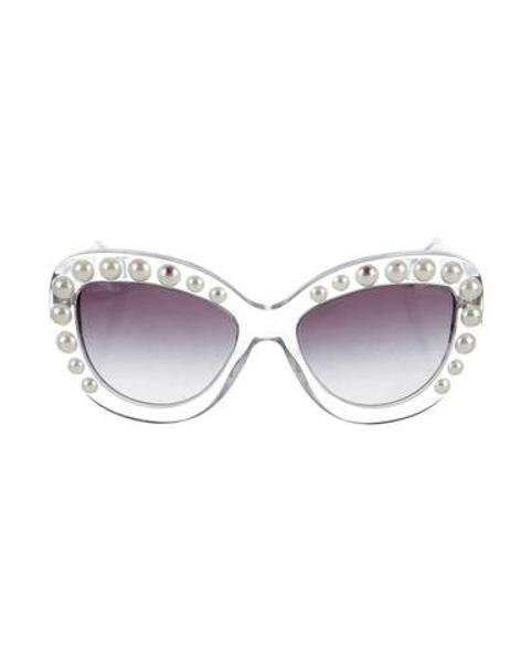 Chanel Cat Eye Sunglasses With Pearls - Image Of Glasses 72bf7e8524