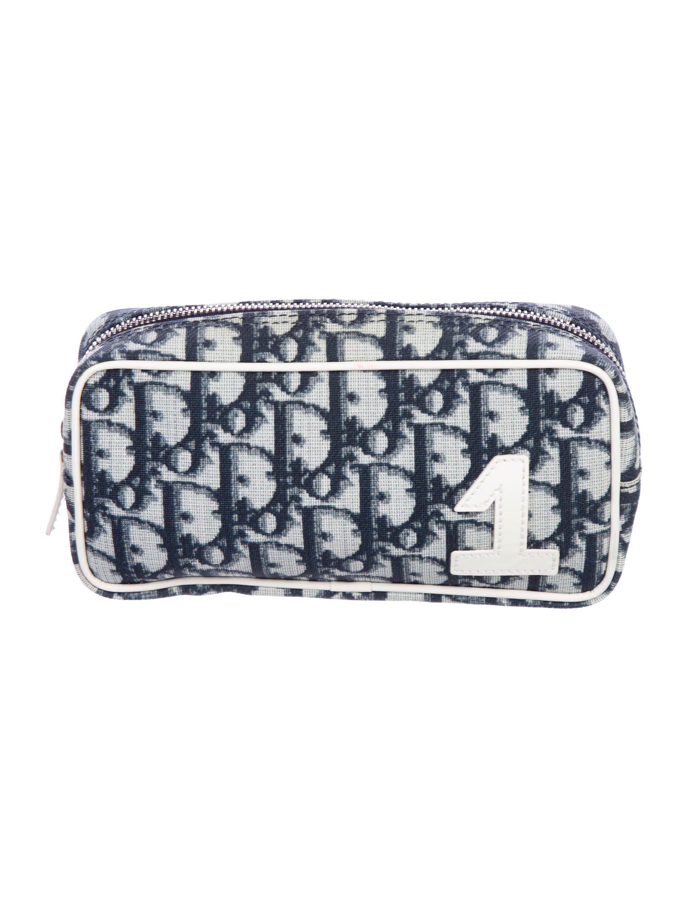 d2b4c4013b29 Lyst - Dior Diorissmio Cosmetic Bag Blue in Metallic - Save 58%