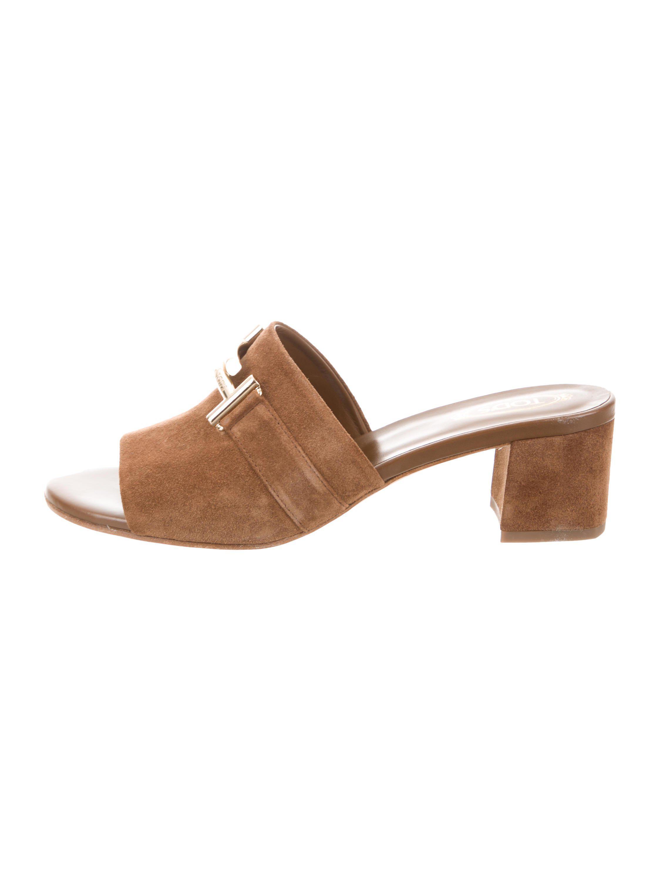 Tod's 2017 Slide Sandals Manchester free shipping pre order free shipping 100% original visit ASZ3zQNU