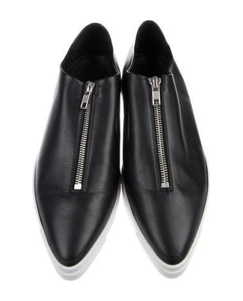 6544a9f2a8 Lyst - Stella Mccartney Vegan Leather Low-top Sneakers in Black