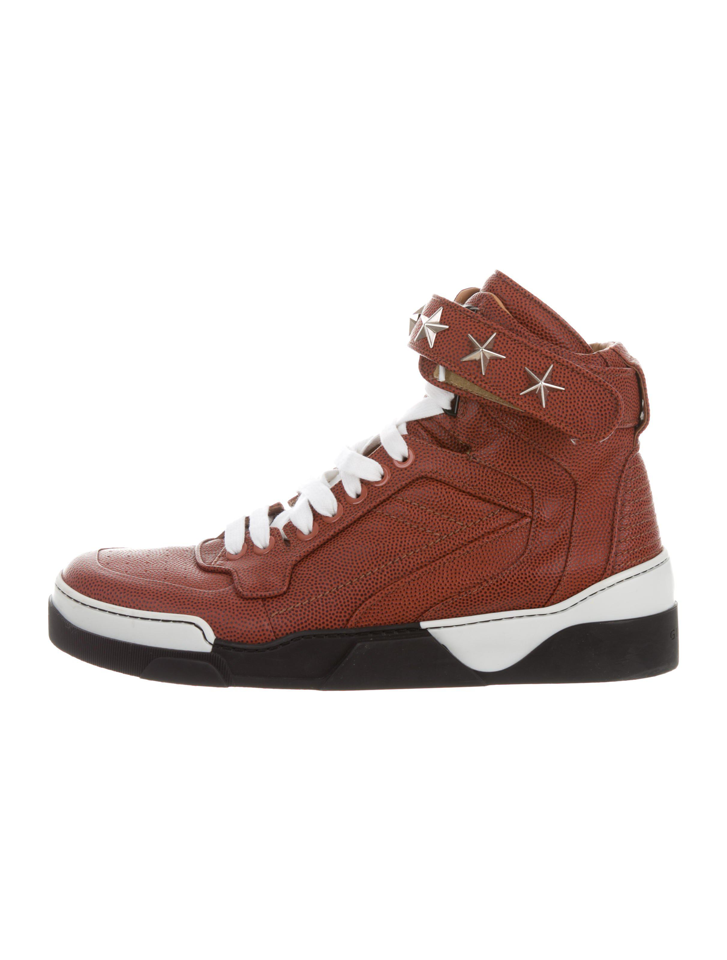 8146e989341b Lyst - Givenchy Tyson High-top Sneakers Brown in Brown for Men