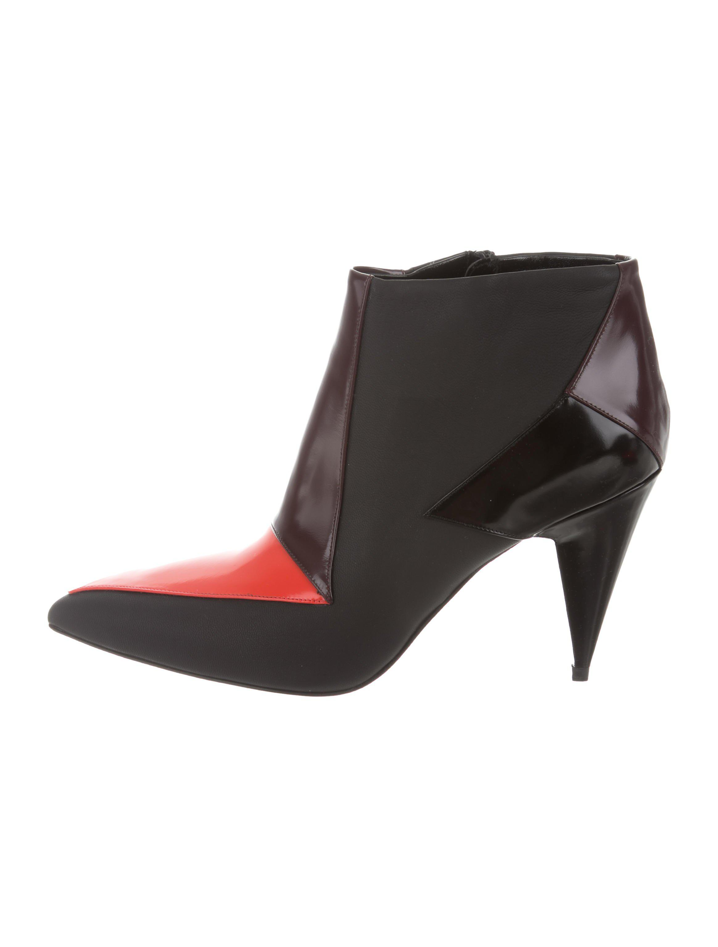 Pierre Hardy Colorblock Pointed-Toe Booties w/ Tags clearance footlocker clearance supply 6wjsCTwKH9