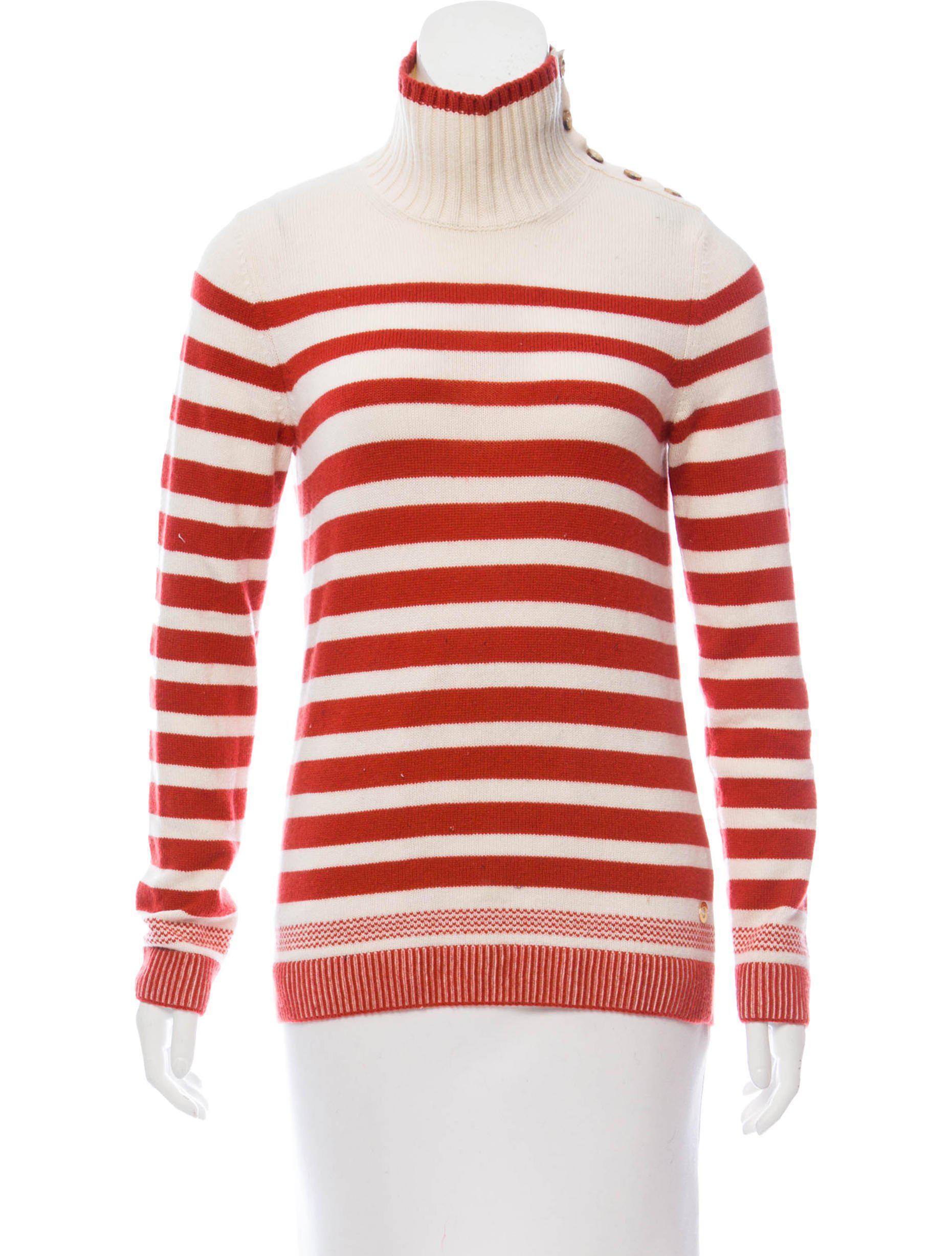 d07daaff9 Lyst - Loro Piana Baby Cashmere Stripe Sweater Tan in Natural