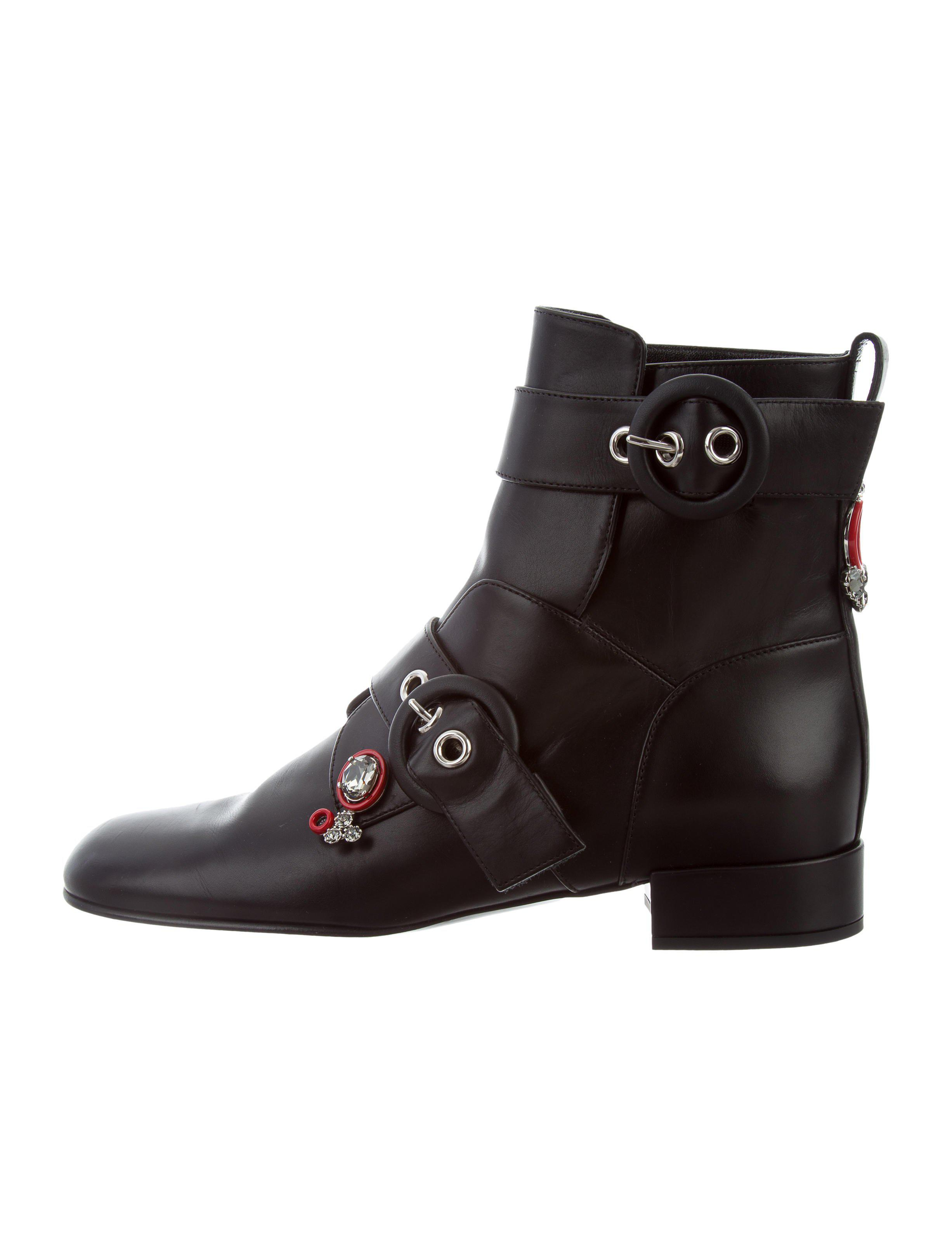 Dior Boots GATSBY leather jewellery ornament OESVaoIZn