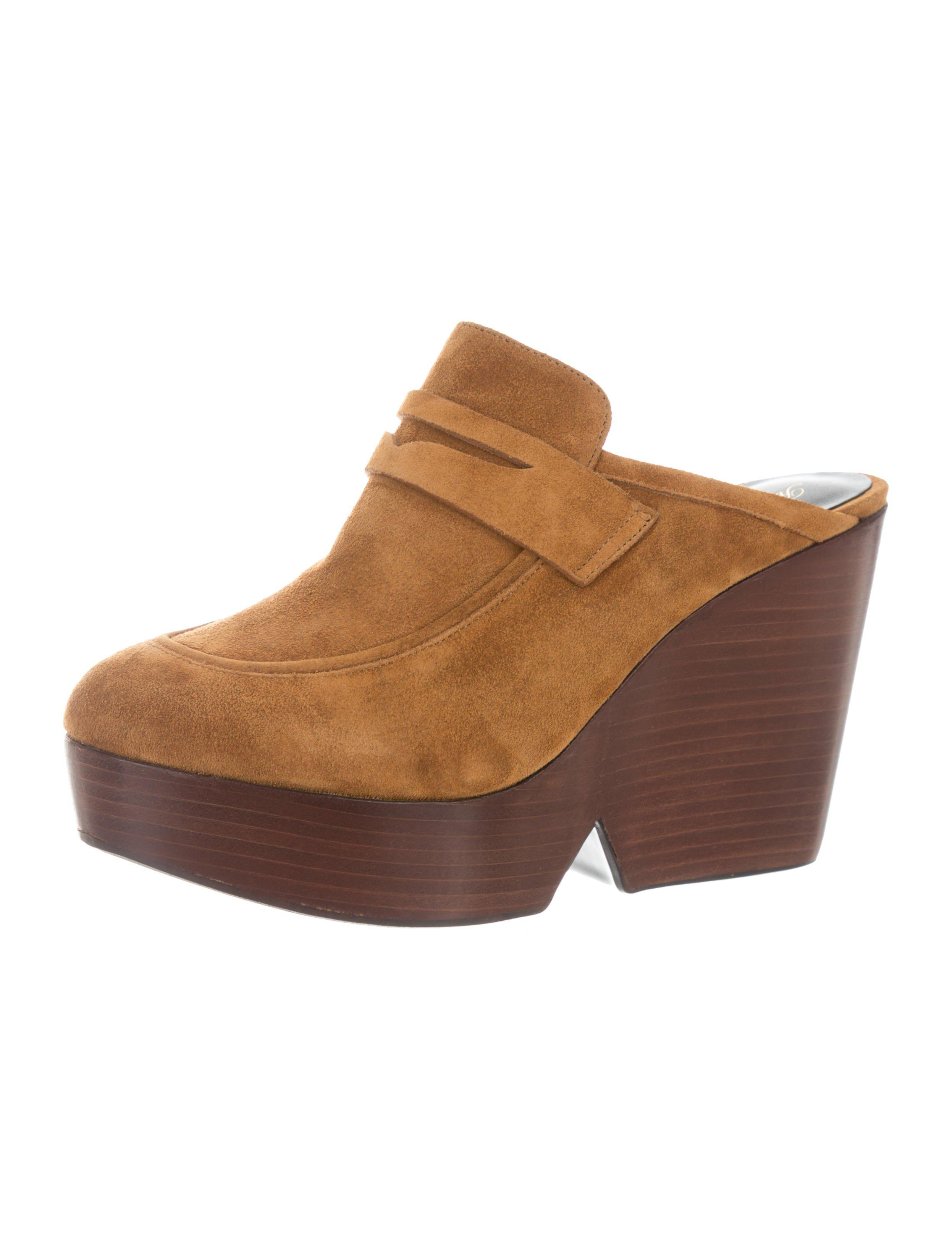 Robert Clergerie Damor Suede Mules w/ Tags buy cheap latest wholesale online purchase cheap online cheap low shipping fee qymtQJFE