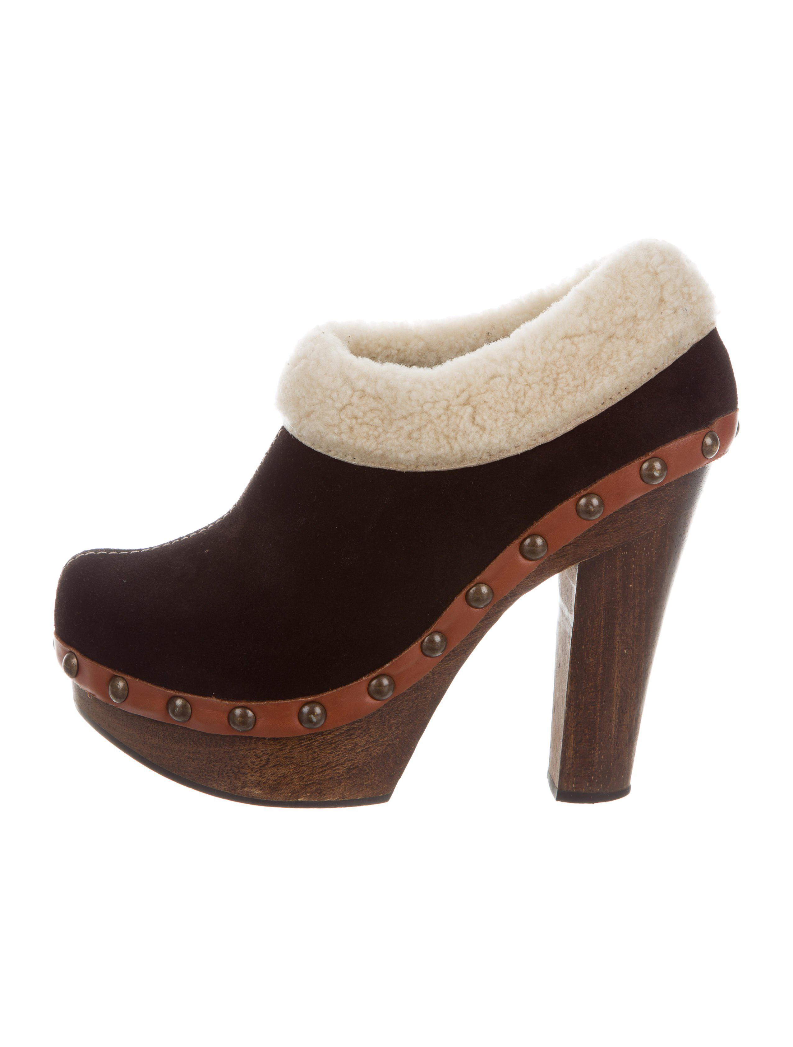 Miu Miu Shearling-Trimmed Platform Booties release dates For sale online with mastercard sale online buy cheap Inexpensive wp4QWv3