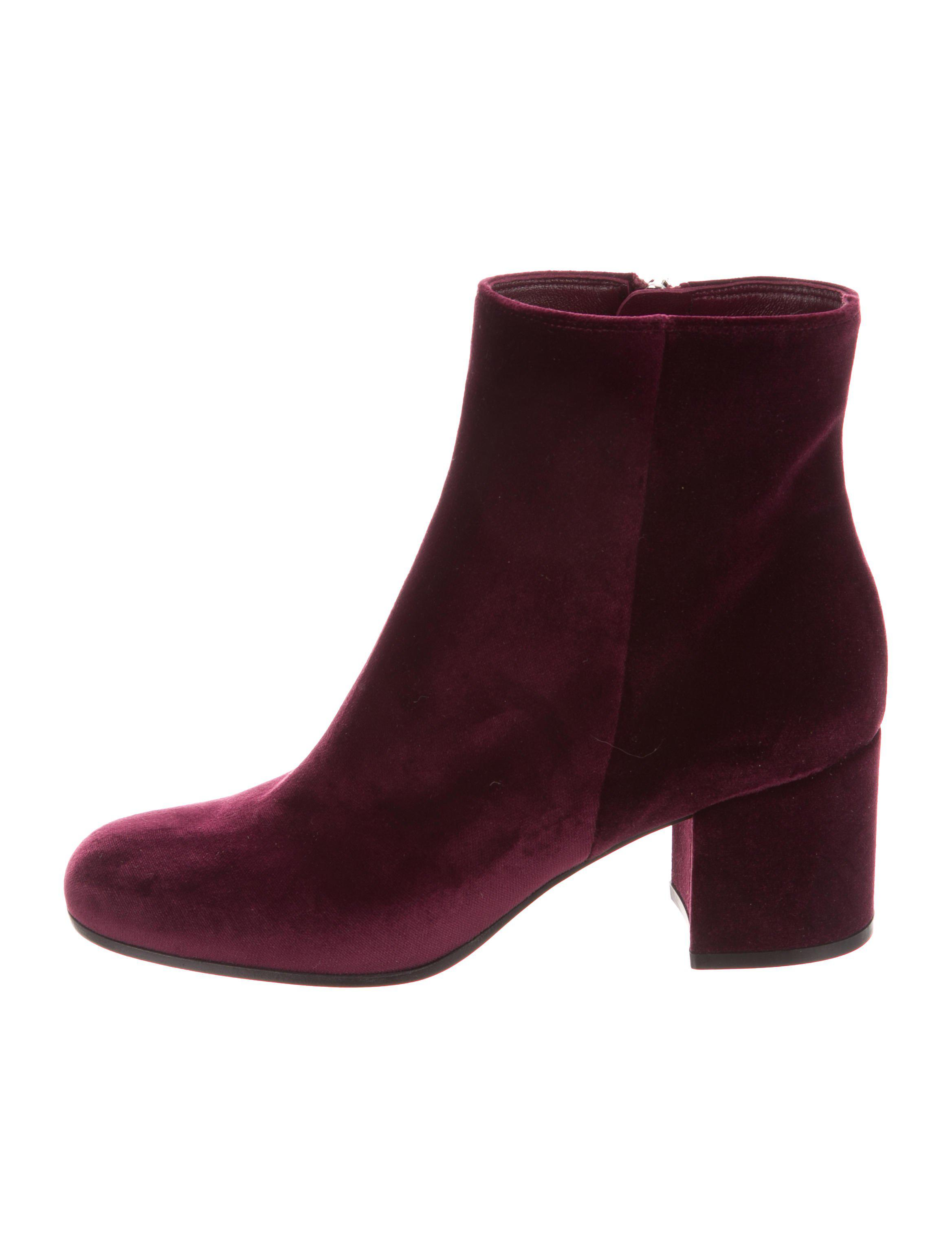 Gianvito Rossi Suede Ankle Boots w/ Tags outlet locations sale online clearance low price fee shipping outlet genuine wEgyQlLmn