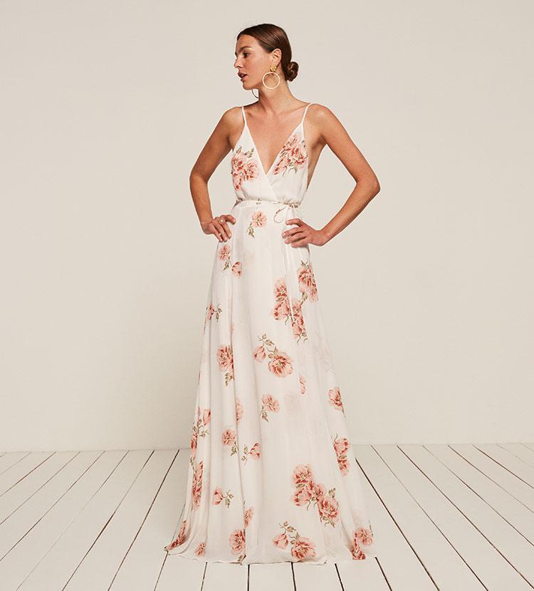 21a643f8fe157a Reformation Callalily Dress - Lyst