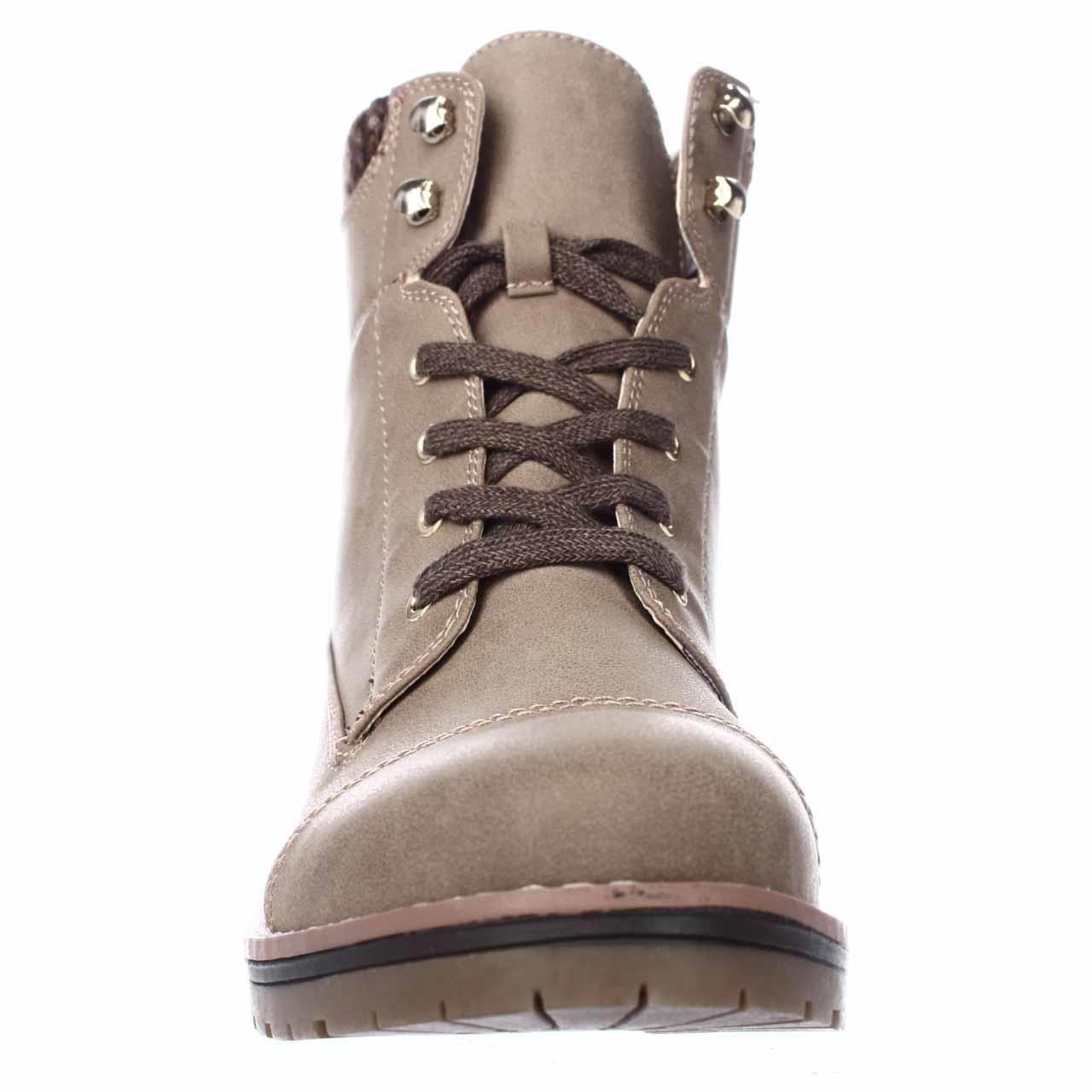 20393cc12f88f Tommy Hilfiger - Brown Omar2 Knit Top Combat Boots - Lyst. View fullscreen