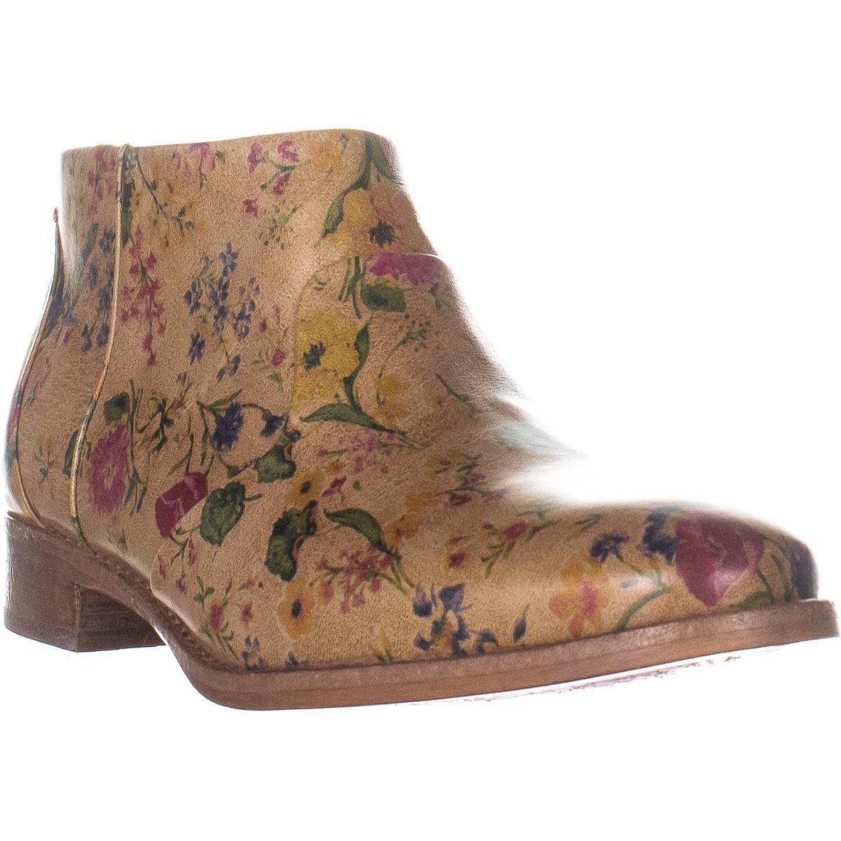 536471da2a2 Women's Brown Patrica Nash Carla Side Zip Ankle Boots
