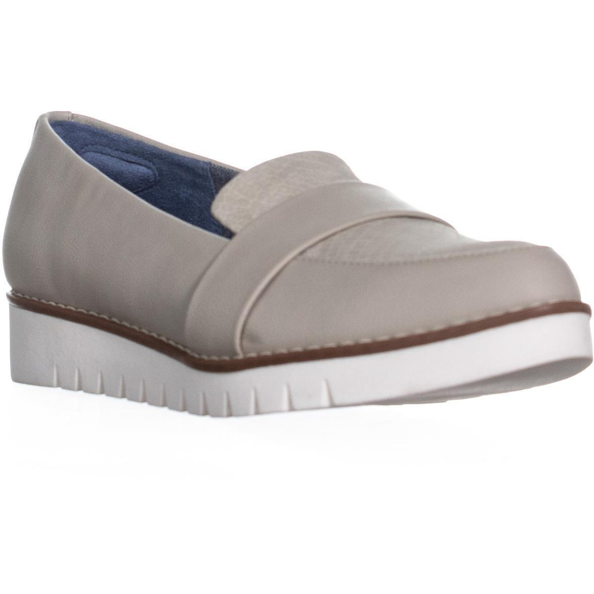 a8d6458a2a5 Dr. Scholls Imagine Pointed Toe Loafers in Gray - Lyst