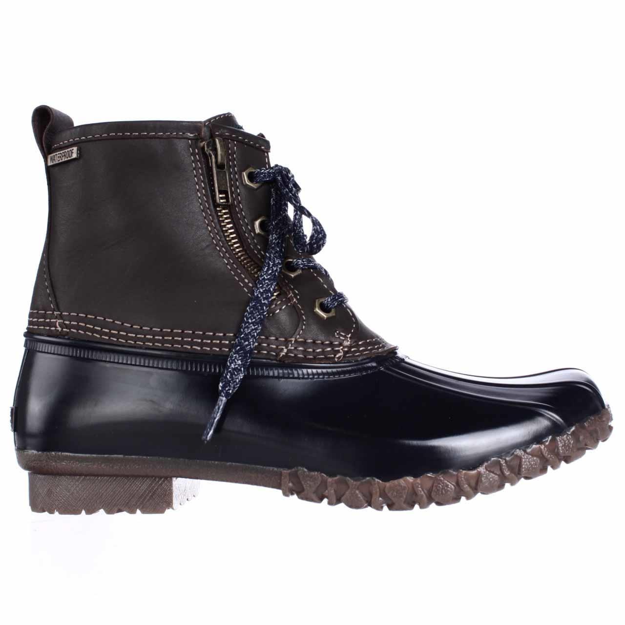 Lyst G H Bass Amp Co Danielle Duck Rain Boots In Brown