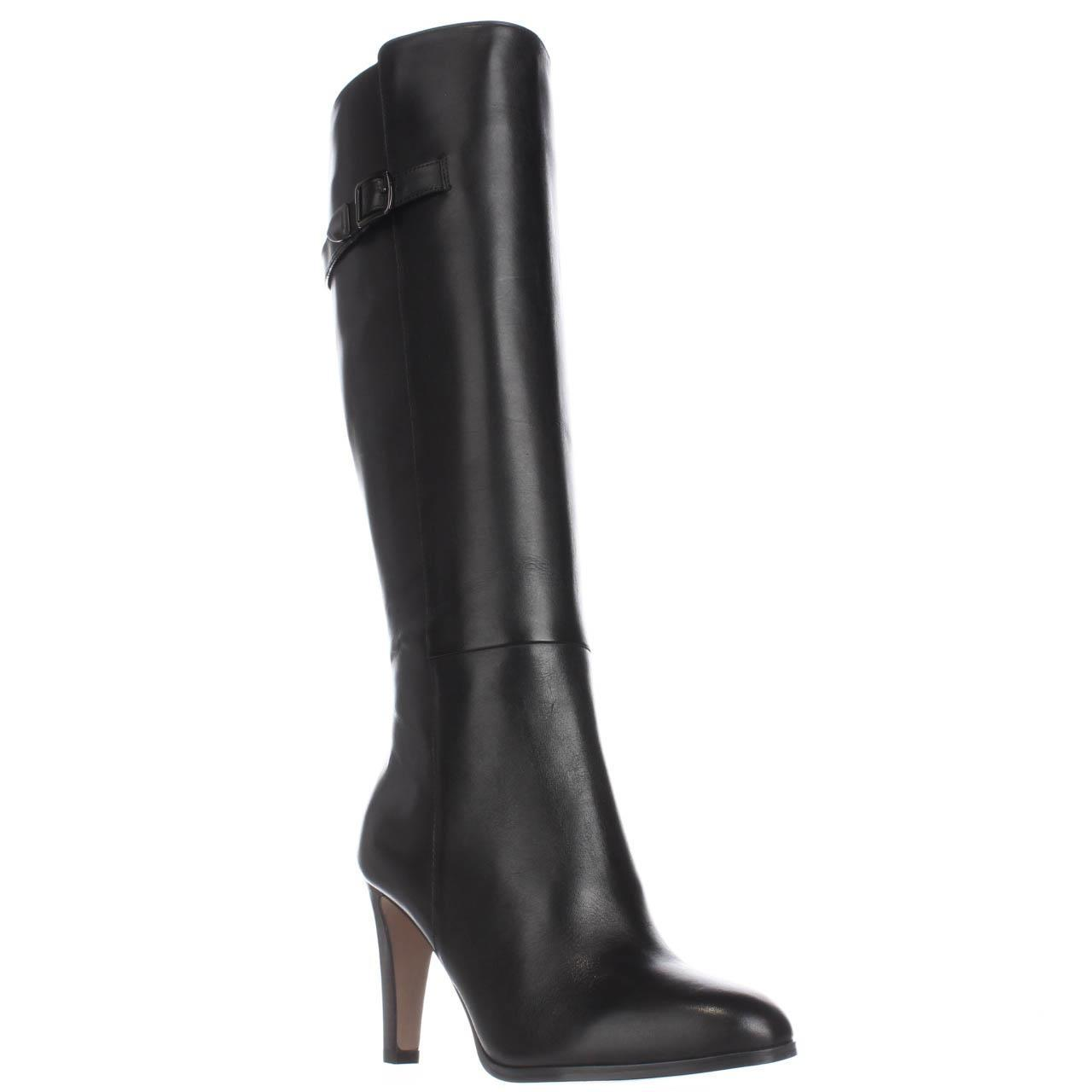 coach jo knee high dress boots in black lyst
