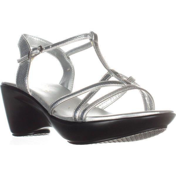 748060ae457c Lyst - Callisto Caressa Wedge Sandals in Metallic - Save ...