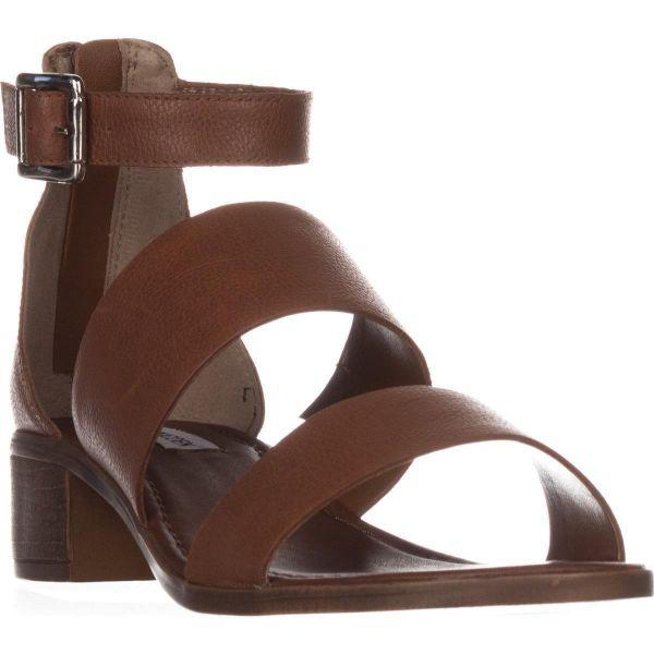 a240aa867cd Lyst - Steve Madden Daly Mule Flat Sandals in Brown
