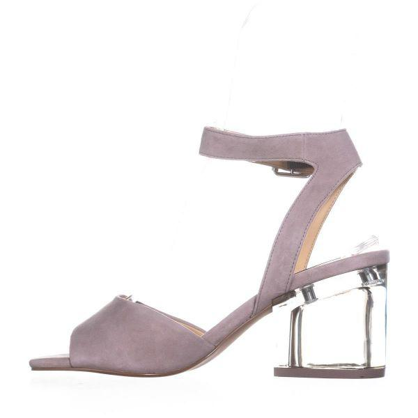 3bc1827cd5f1 Steve Madden - Gray Debbie Heeled Sandals - Lyst. View fullscreen