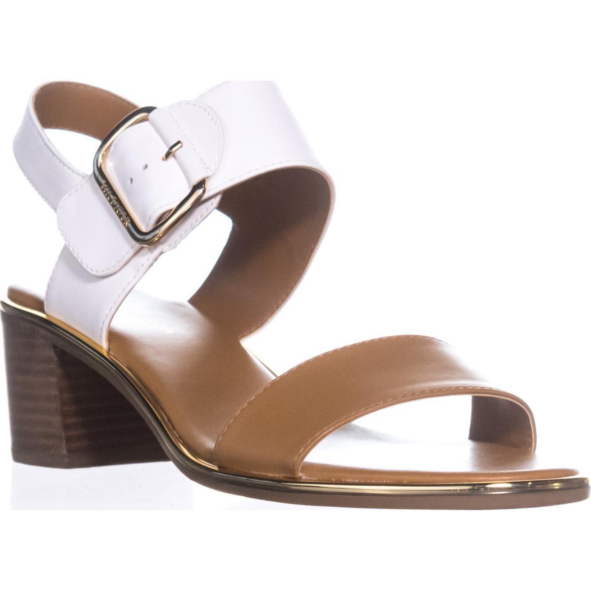 2db05648b011 Tommy Hilfiger Katz2 Block-heel Slingback Sandals in White - Lyst