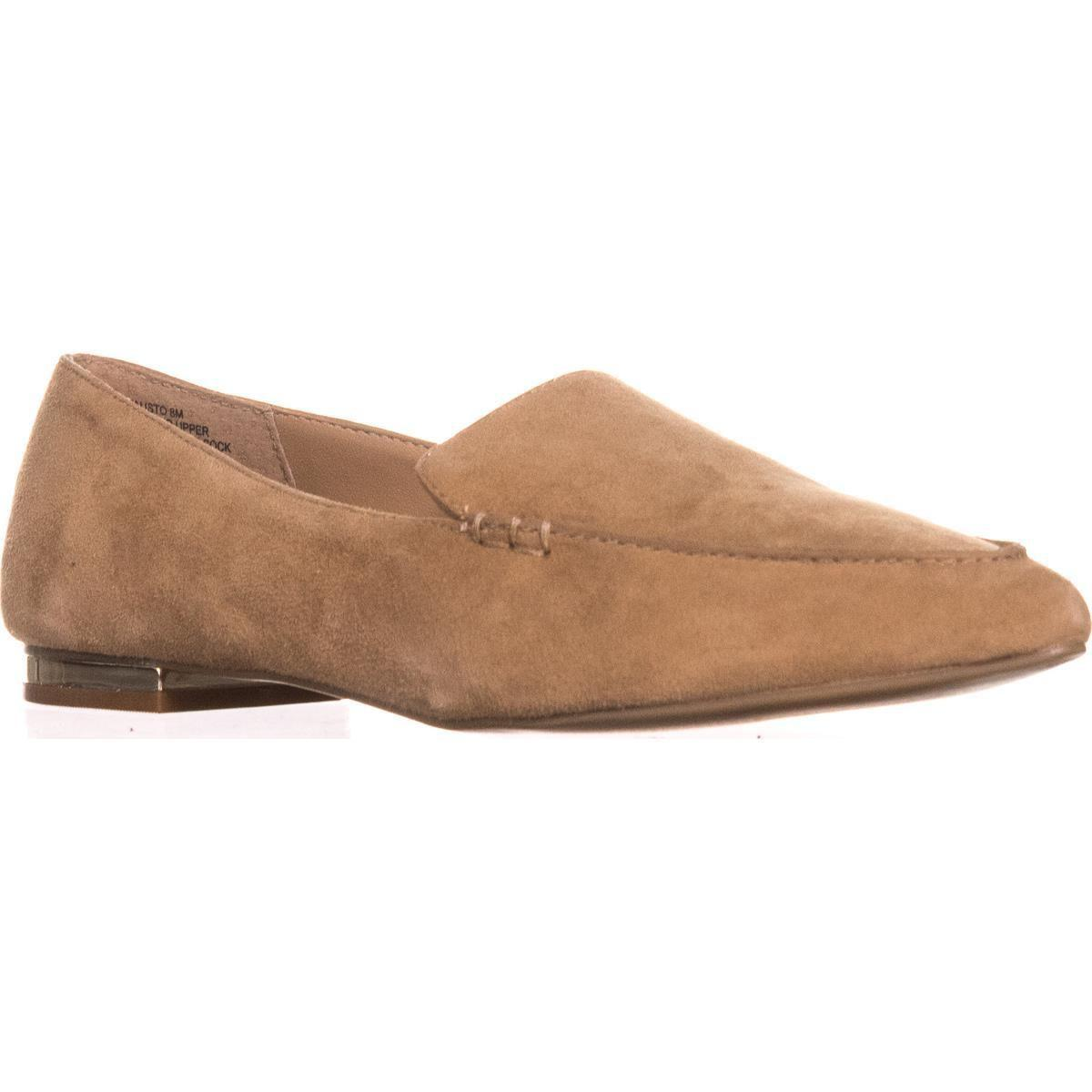 49035e80825 Lyst - Steve Madden Fausto Slip-on Loafers in Natural