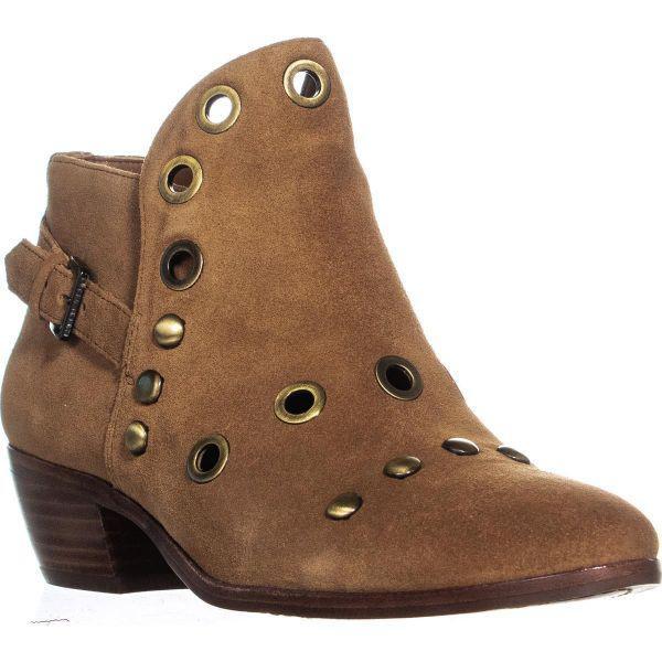 a25e00ce04cb13 Lyst - Sam Edelman Pedra Ankle Boots in Brown
