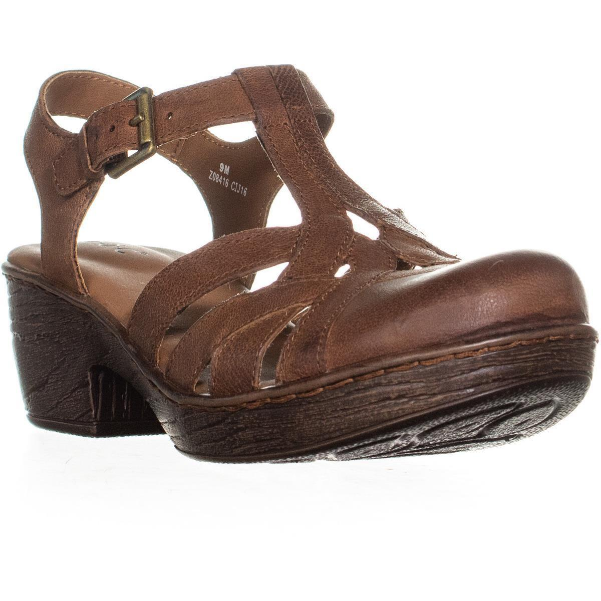 fed304e5ee57 Lyst - Born B.o.c. Persi Closed Toe Slingback Sandals in Brown