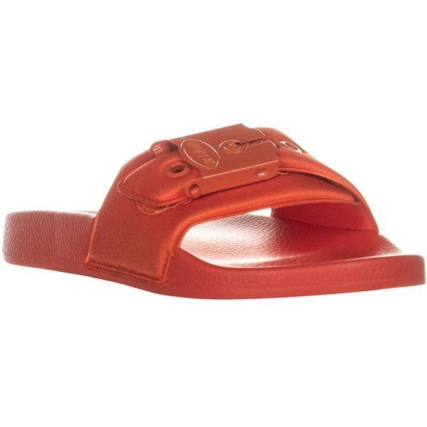 357379975916 Dr. Scholls Dr. Scholls Og Poolslide Slide Sandals in Red - Lyst