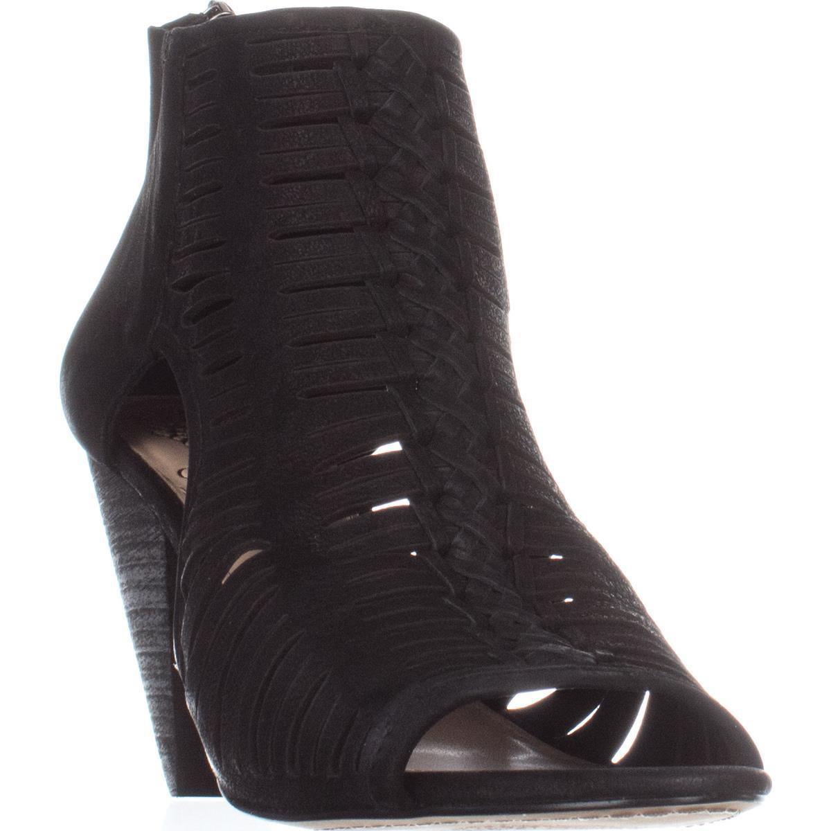 9bde515c1a21 Lyst - Vince Camuto Eldora Peep Toe Heeled Sandals
