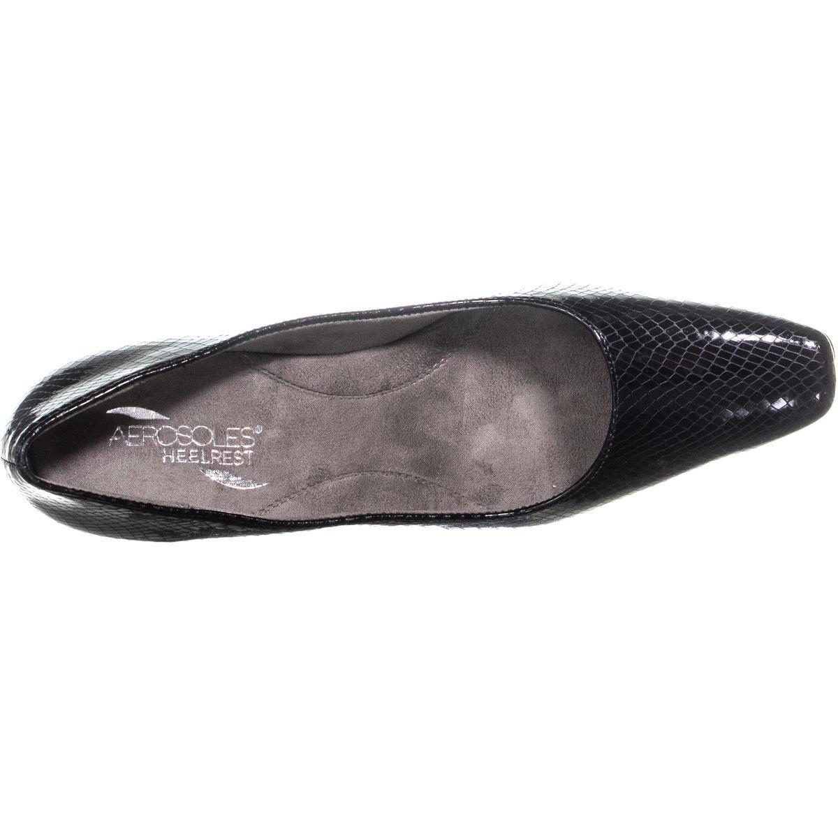 f96249b716 Aerosoles Cheerful Kitten Heels, Black in Black - Lyst