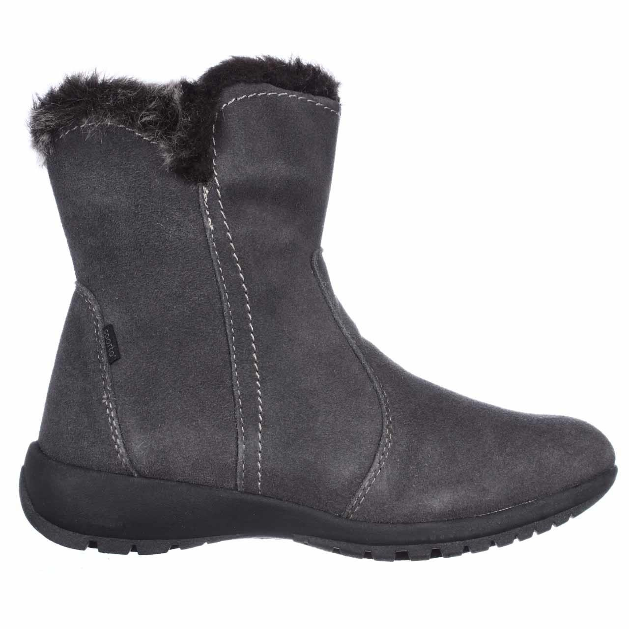 sporto karmen mid calf waterproof winter boots in gray lyst