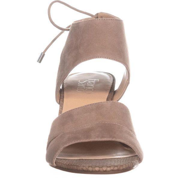 b01203b3377a Franco Sarto - Multicolor Gem Ankle Tie Sandals - Lyst. View fullscreen