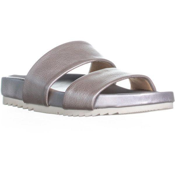 cd24f476ba3e Lyst - Naturalizer Naturalizaer Amabella Slide Sandals in Metallic