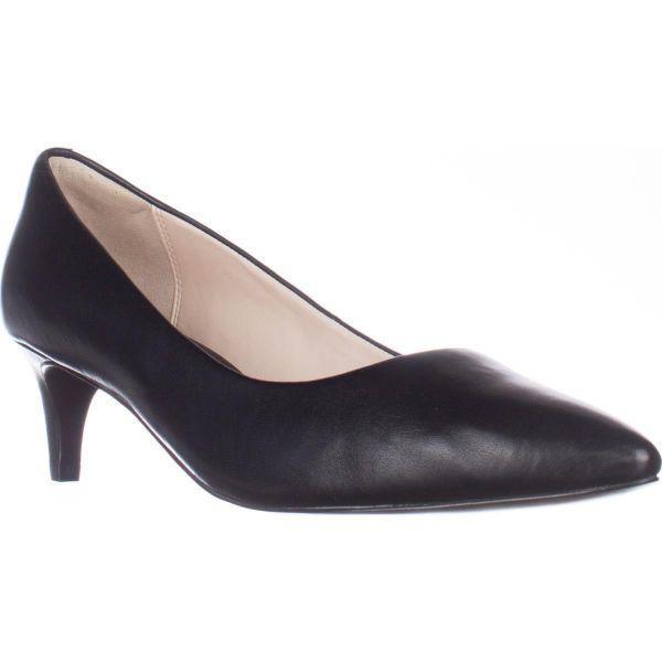 13af34848c9 Lyst - Cole Haan Amelia Grand Kitten Heel Pumps in Black