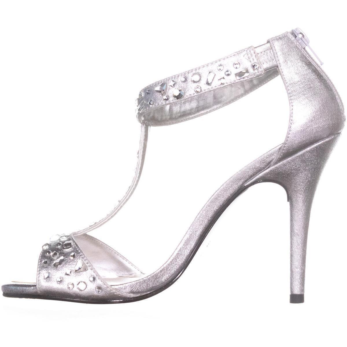 681a6c97834 Caparros - Metallic Esther T-strap Evening Sandals - Lyst. View fullscreen
