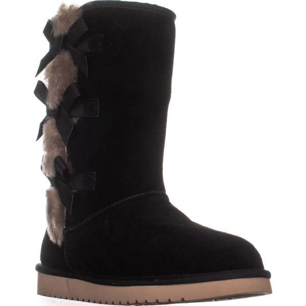 920eb6432019 Lyst - UGG Koolaburra By UGG Victoria Tall Boots in Black