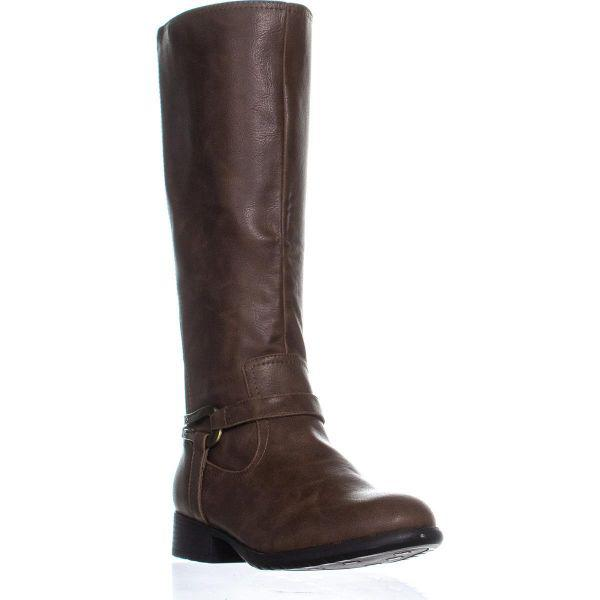 f507b37bf6d Lyst - Lifestride Xena Riding Boots in Brown