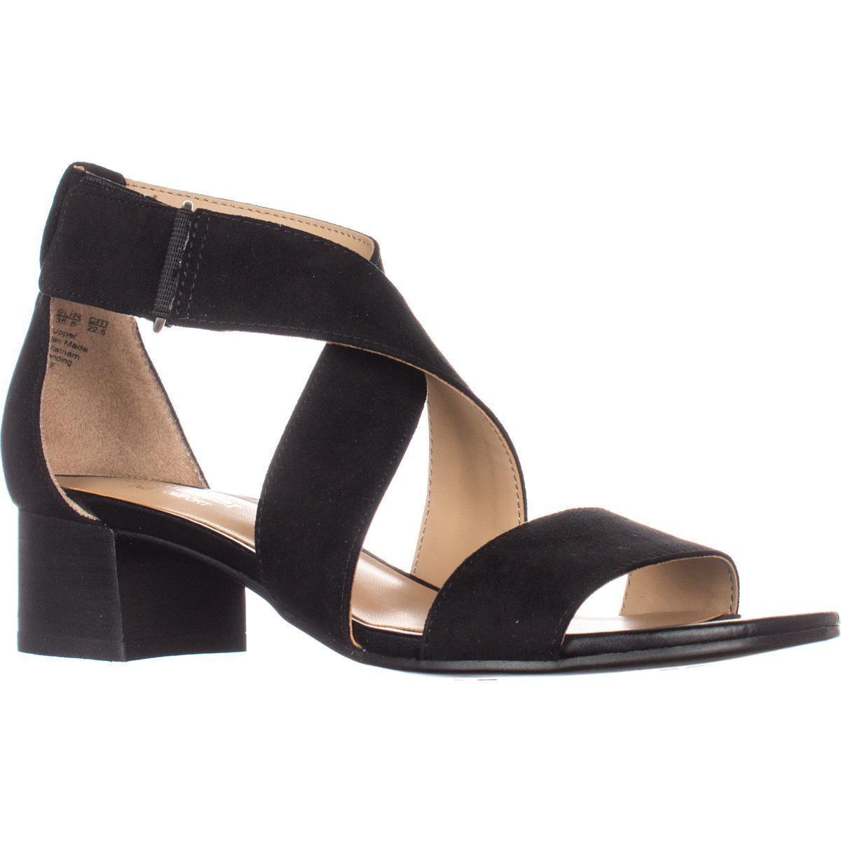 7514a6ffca2 Lyst - Naturalizer Adele Ankle Strap Sandals in Black