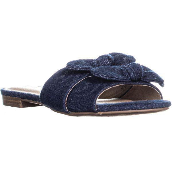 c19093773611 Esprit Kenya Flat Slide Sandals in Blue - Save 26% - Lyst