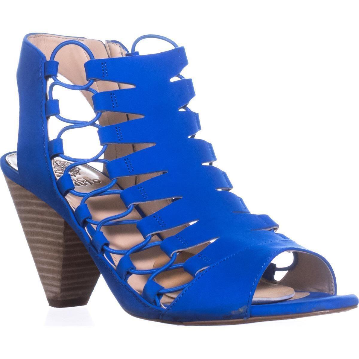 296660c30b0 Lyst - Vince Camuto Eliaz Strappy Dress Sandals in Blue
