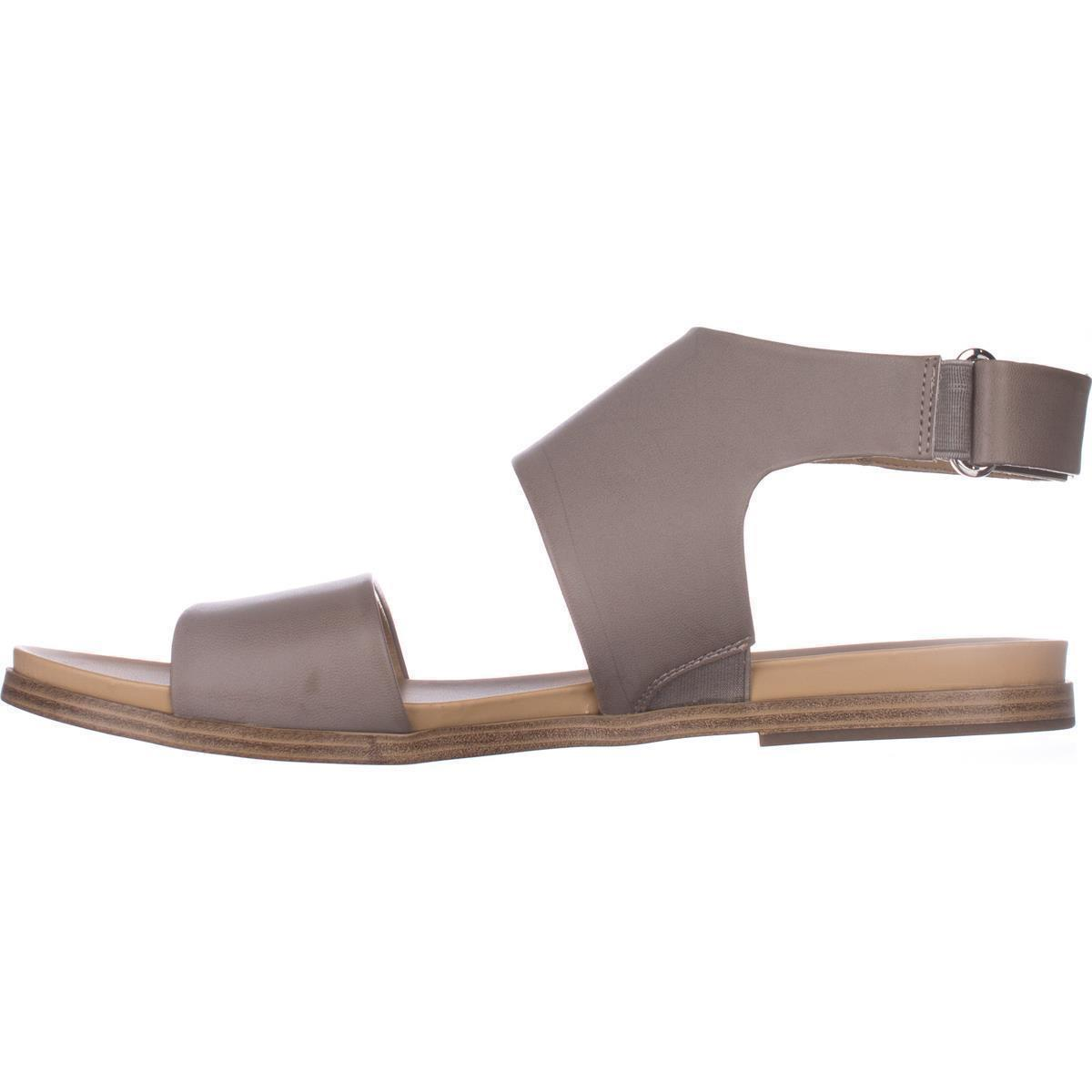 7d230a554309 Lyst - Naturalizer Kimono Flat Sandals in Gray