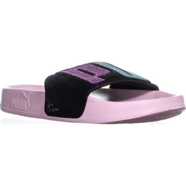 Puma X Sophia Webster Leadcat Slip On Slide Sandals in Pink - Lyst 2e9382067