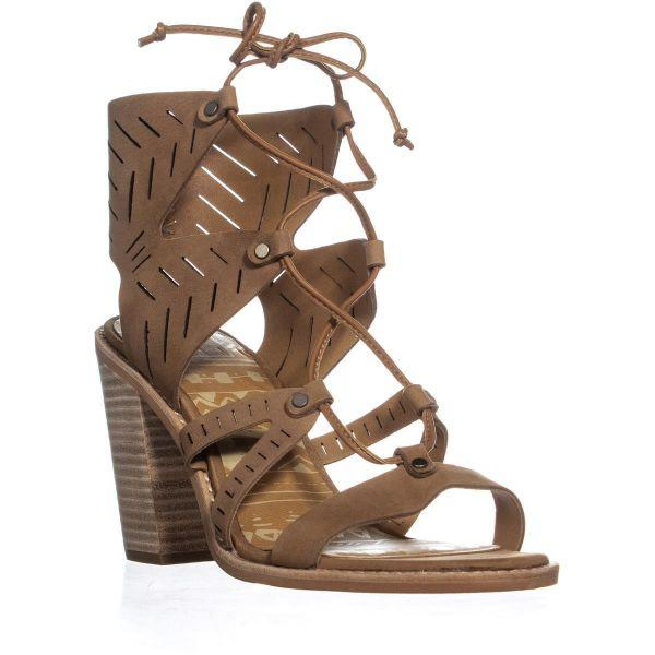 8c7ed40b18d4 Lyst - Dolce Vita Luci Heeled Sandals in Brown
