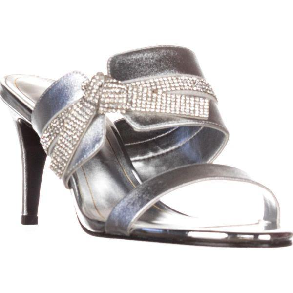 c84dd66cf78 Lyst - Caparros I-love Knot Mule Evening Sandals in Metallic - Save 12%