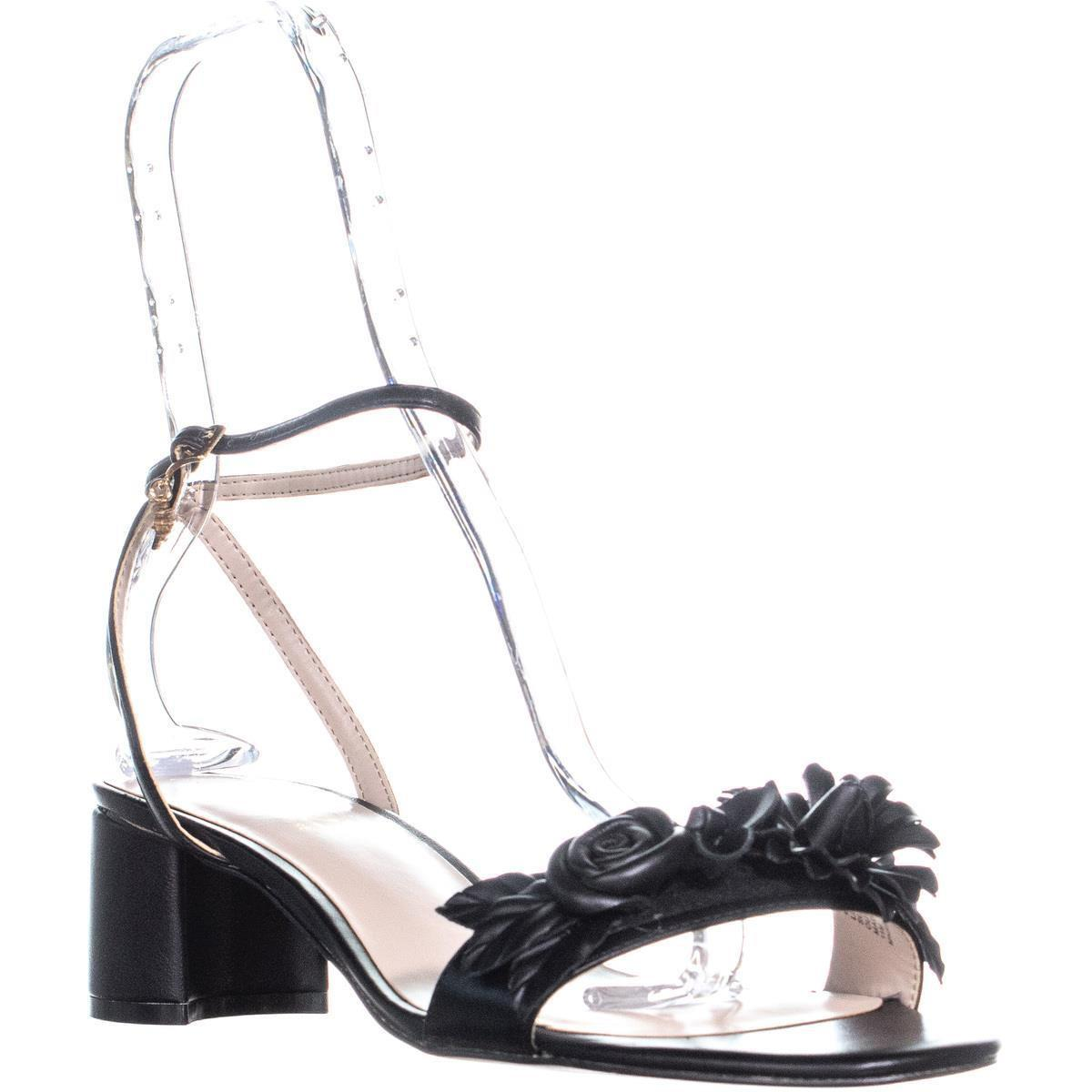 39ad34acabe Lyst - Nanette Lepore Donna Heeled Sandals in Black