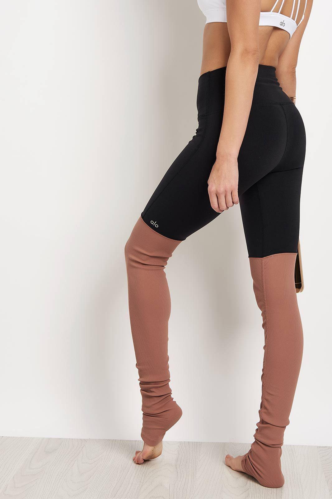 ca7ba56846 Alo Yoga High Waist Goddess Legging in Black - Lyst