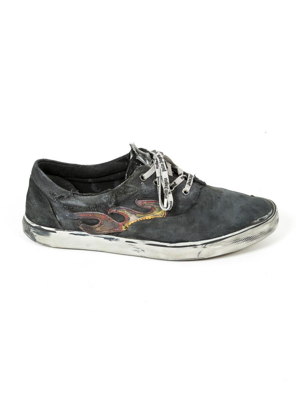Palm Angels Tartan Distressed Sneakers U0WRkWZGft