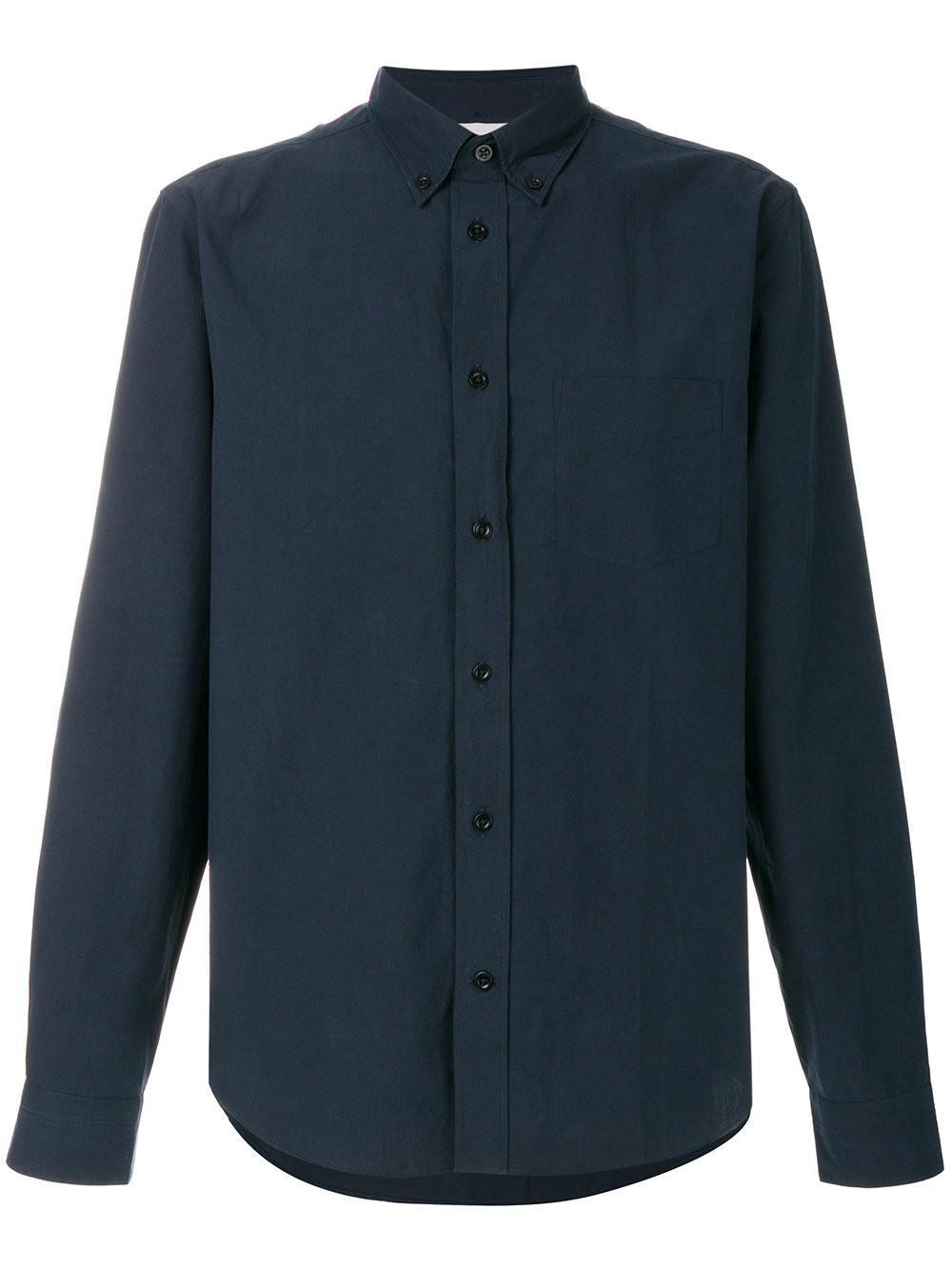 de77ca1b8f Lyst - Acne Studios Isherwood Shirt in Blue for Men