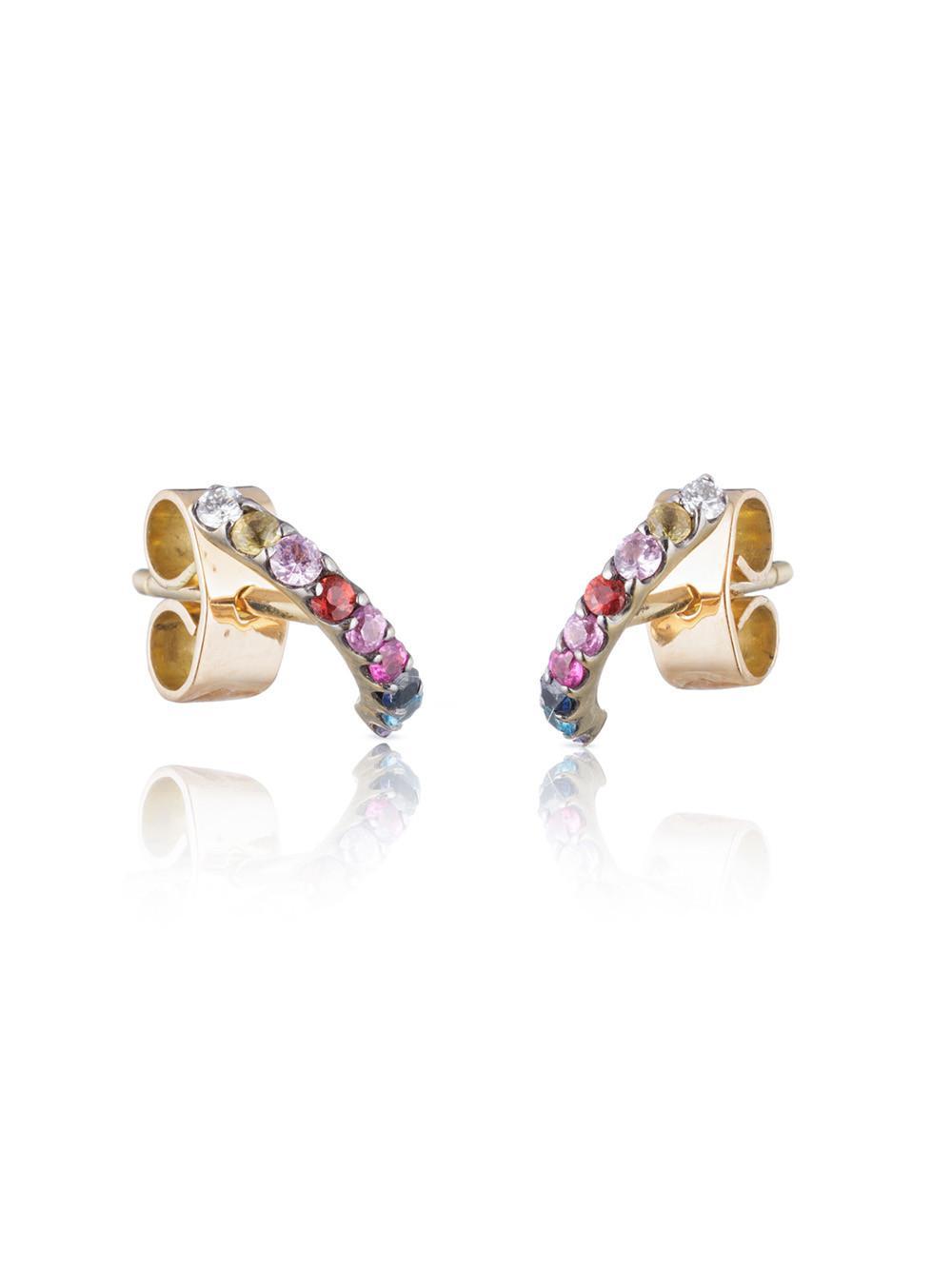 Ana Khouri Womens Norah Multicolored Earring 42MXWM